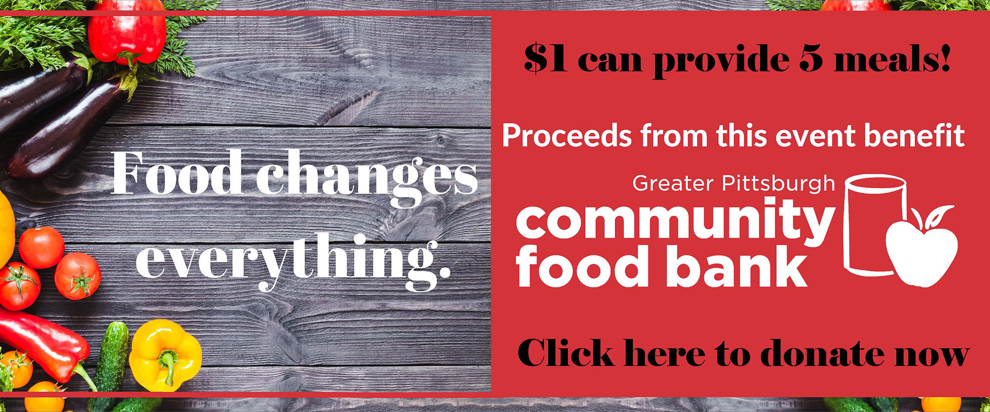 donate to the greater Pittsburgh community foodbank