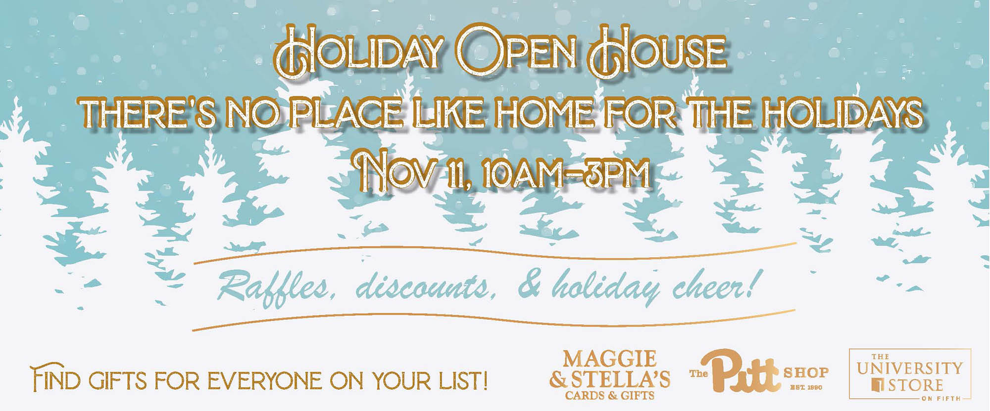 shop our holiday open november eleventh