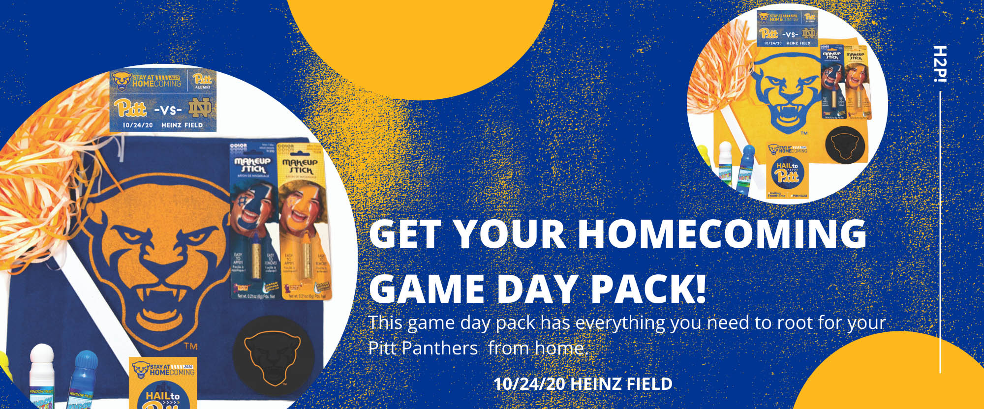 hail to pitt with gameday gear
