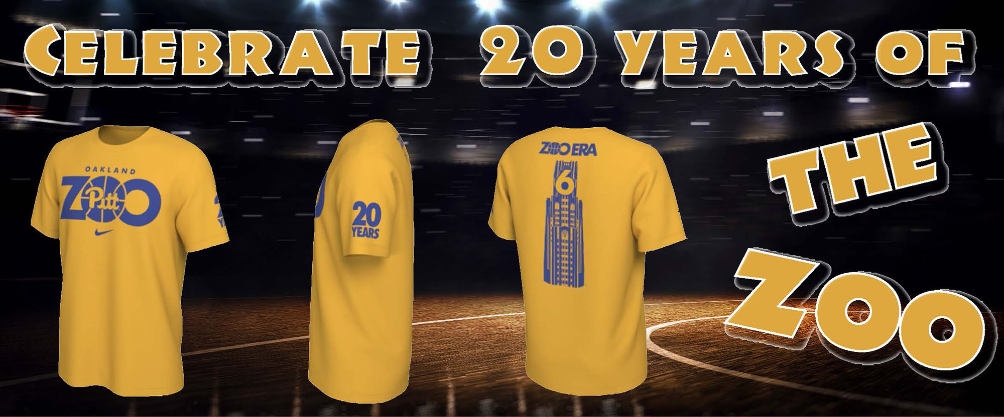 get your twentieth anniversary oakland zoo shirt