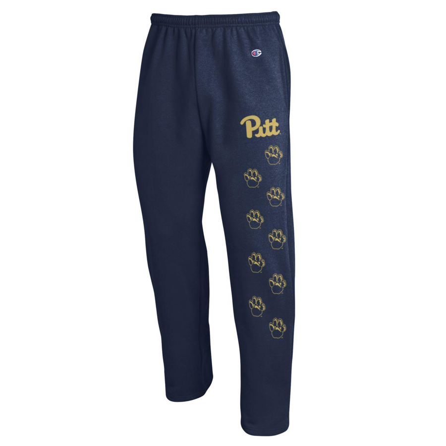 Champion Sweatpant Open Bottom Paw Print