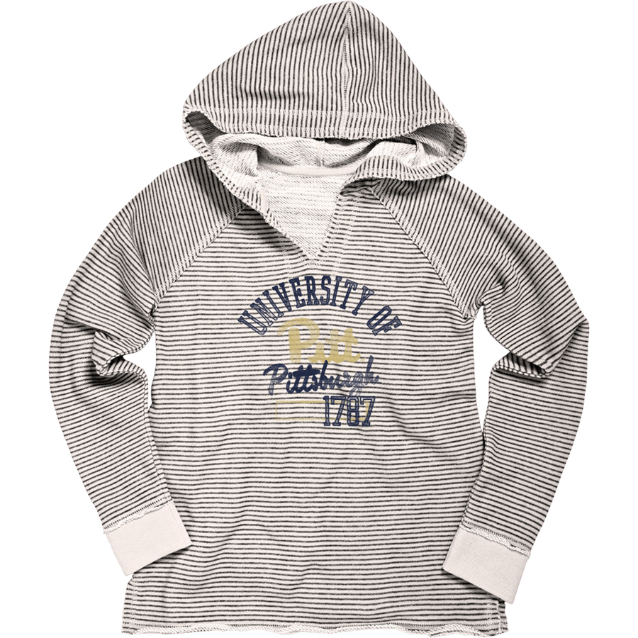 Blue 84 Youth Striped French Terry Hoodie