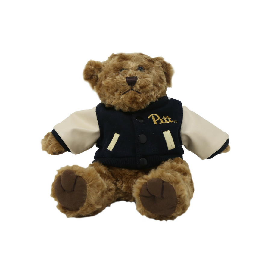 Plush 10 inch Bear w/ Varsity Jacket