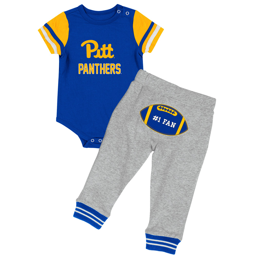 Colosseum Infant Onesie and Pant Long Run Set