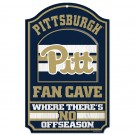 Wooden Sign Pitt Fan Cave