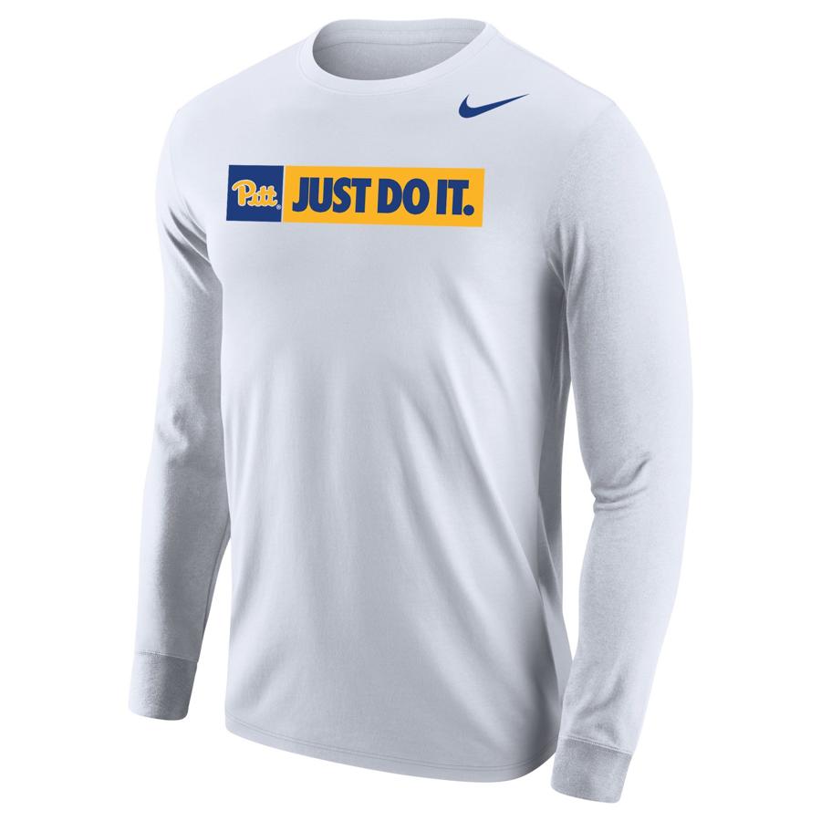 22267281795 Nike Men s Core Cotton Long Sleeve T-Shirt - White