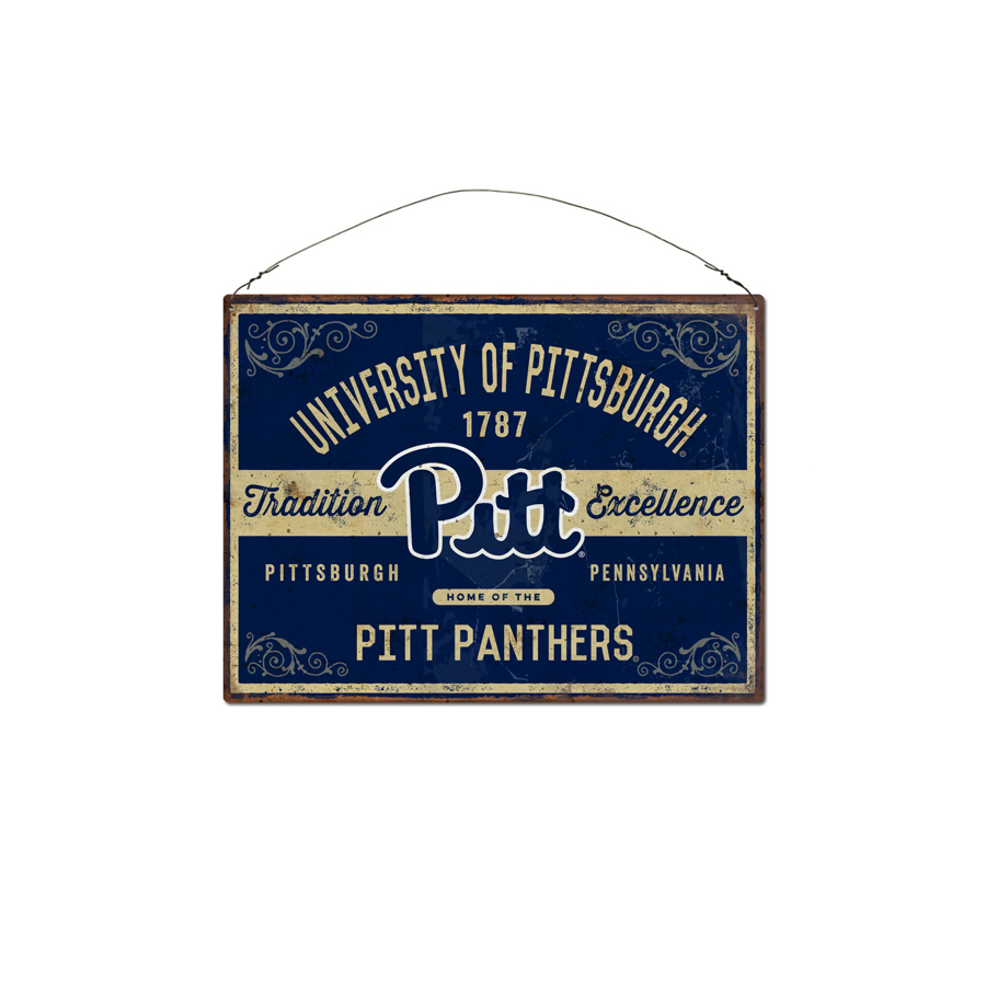 Tin Pitt Panthers Sign