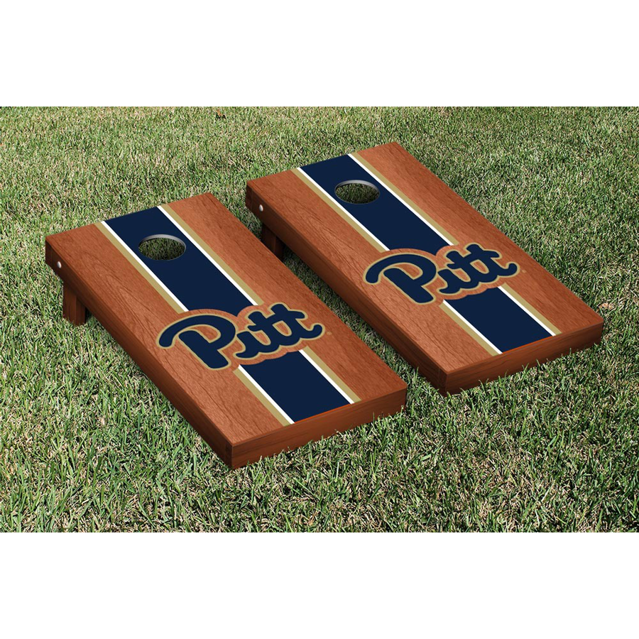 Image For Pittsburgh Panthers Regulation Cornhole Game Set Rosewood