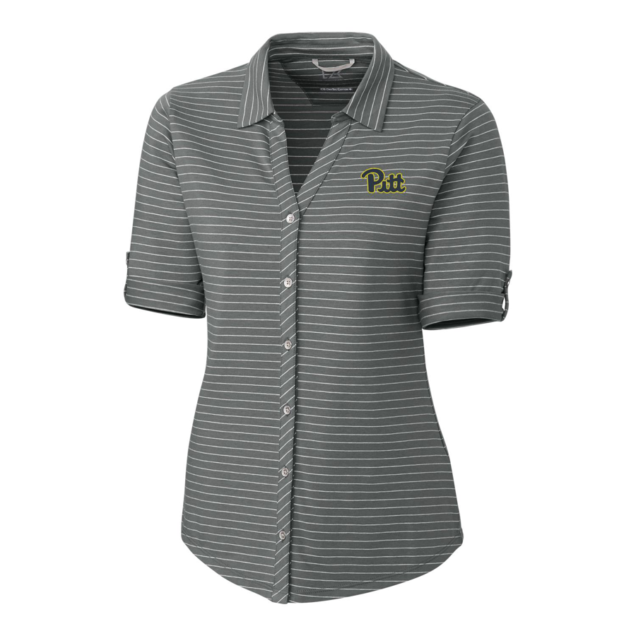 Cutter   Buck Women s Academy Striped Polo Shirt 2b641ea99