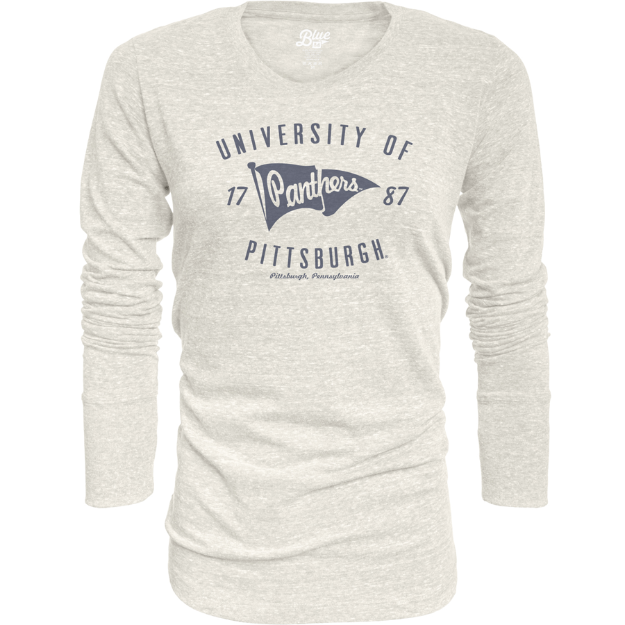 Image For Blue 84 Women's Tri-Blend Long Sleeve T-Shirt