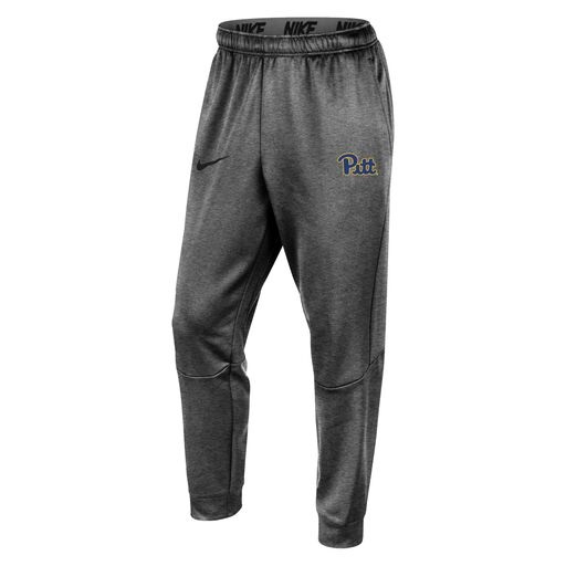 Image For Nike Men's Pant Therma Tapered Jogger Pitt Script - Grey
