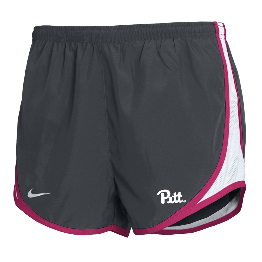 Image For Nike Youth Girls Short Pitt Tempo - Anthracite/Pink