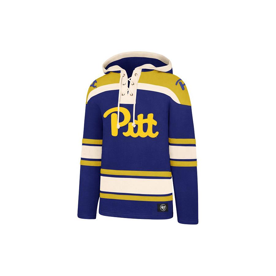 a63490bbbea5 47 Brand Men s Superior Pitt Script Hockey Jersey