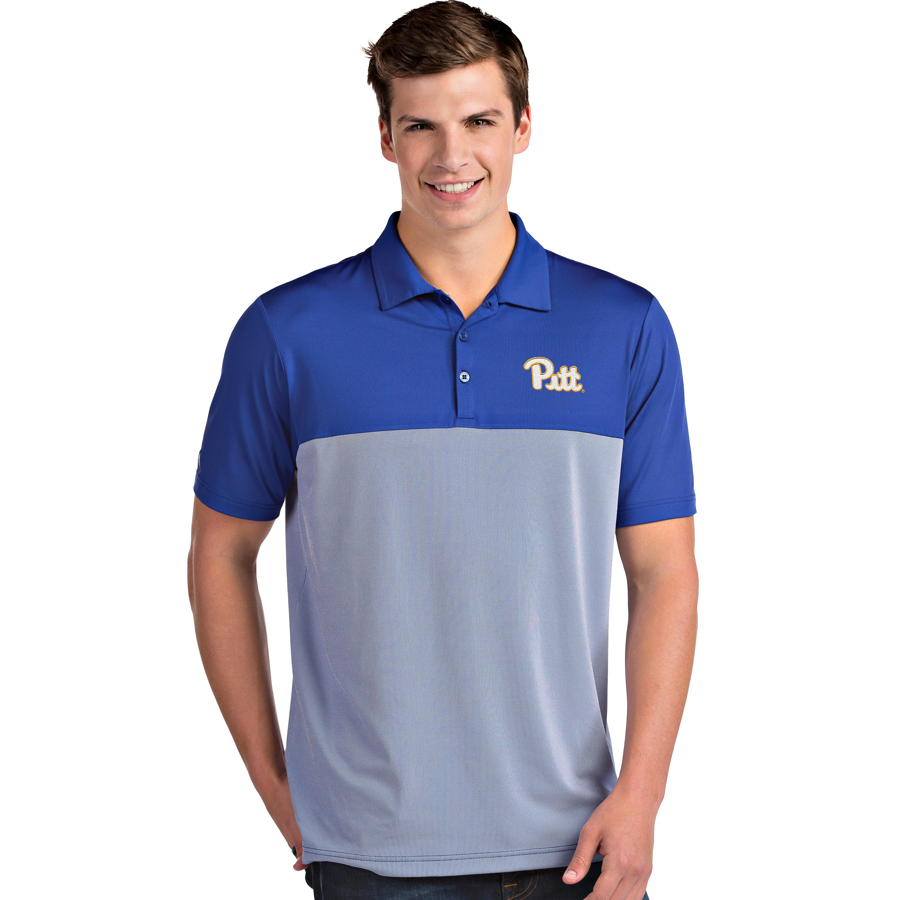 Image For Antigua Men's Polo Pitt Script Venture - Royal
