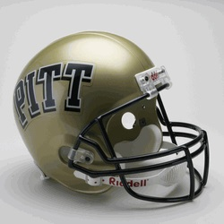 Image For Pitt Panther Authentic Arch Block Helmet