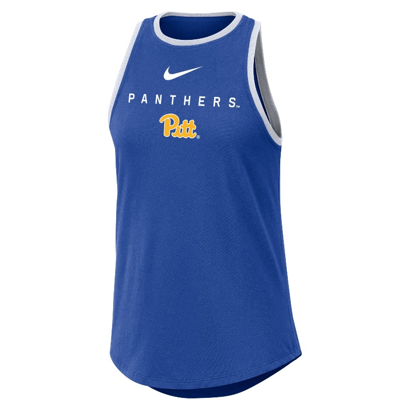 Image For Nike Women's Tank Top Panthers - Royal