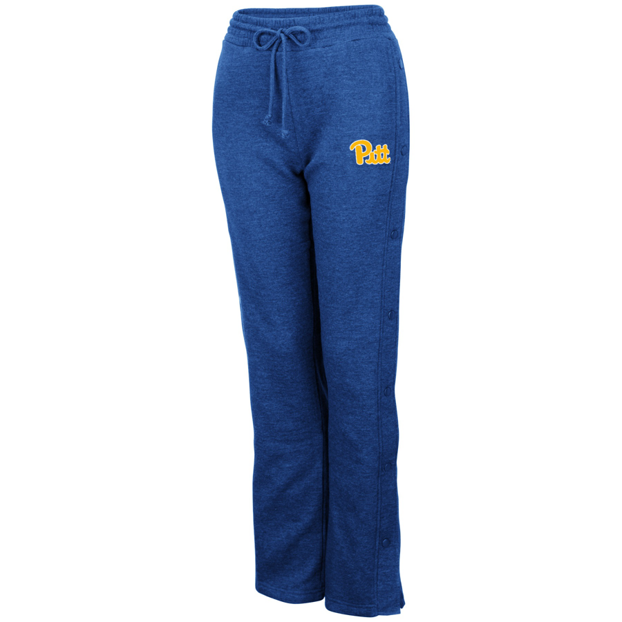 Image For Colosseum Women's Snap Fleece Pants - Royal