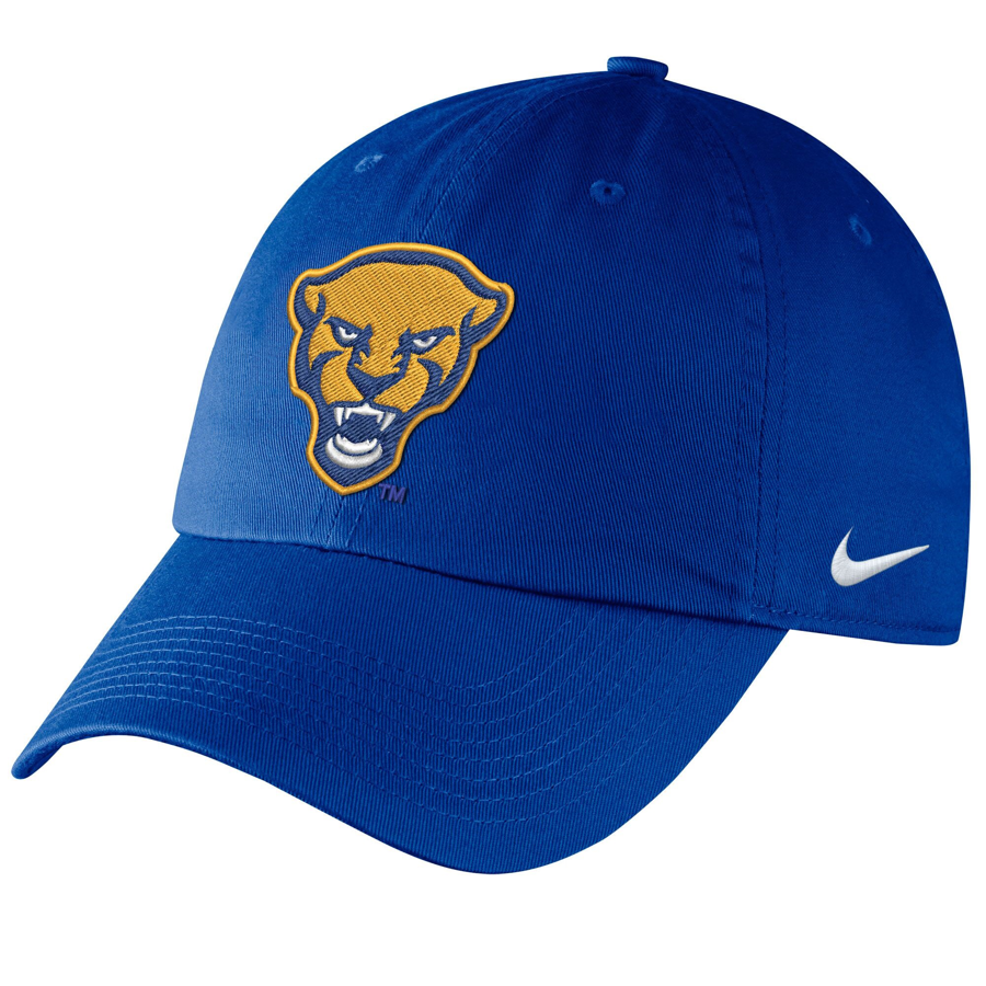 Cover Image For Nike Adult's Panther Head Campus Hat - Royal Blue