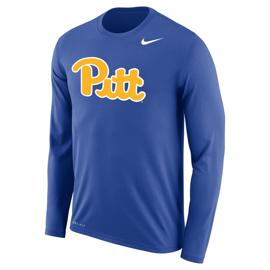 19ab34d70 Nike Men's Dri-FIT Legend 2.0 Long Sleeve T-Shirt-Royal Blue