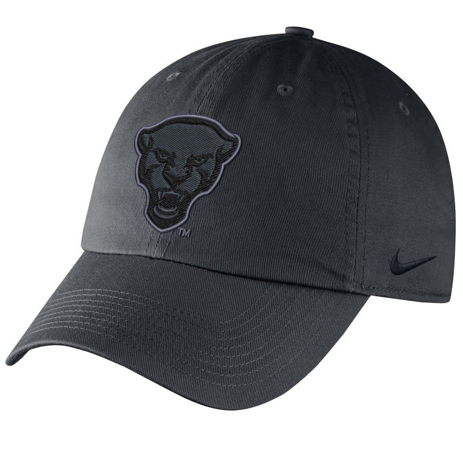 Image For Nike Adult's Panther Head Campus Hat - Gray