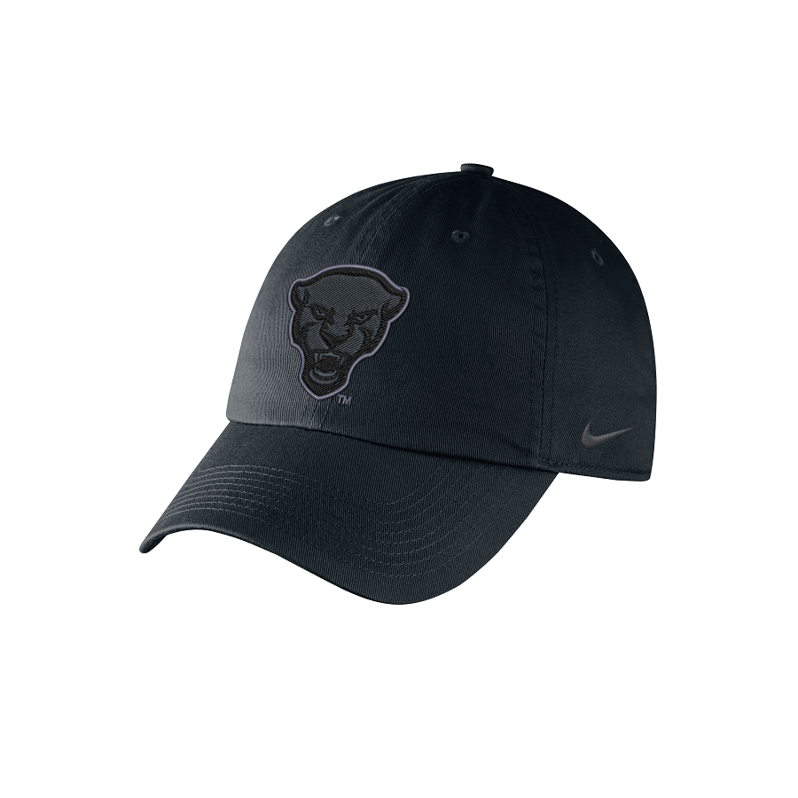 Cover Image For Nike Adult's Panther Head H86 Hat - Black