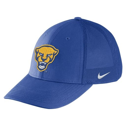 Cover Image For Nike Adult's Aerobill Flex Hat Panther Head - Royal