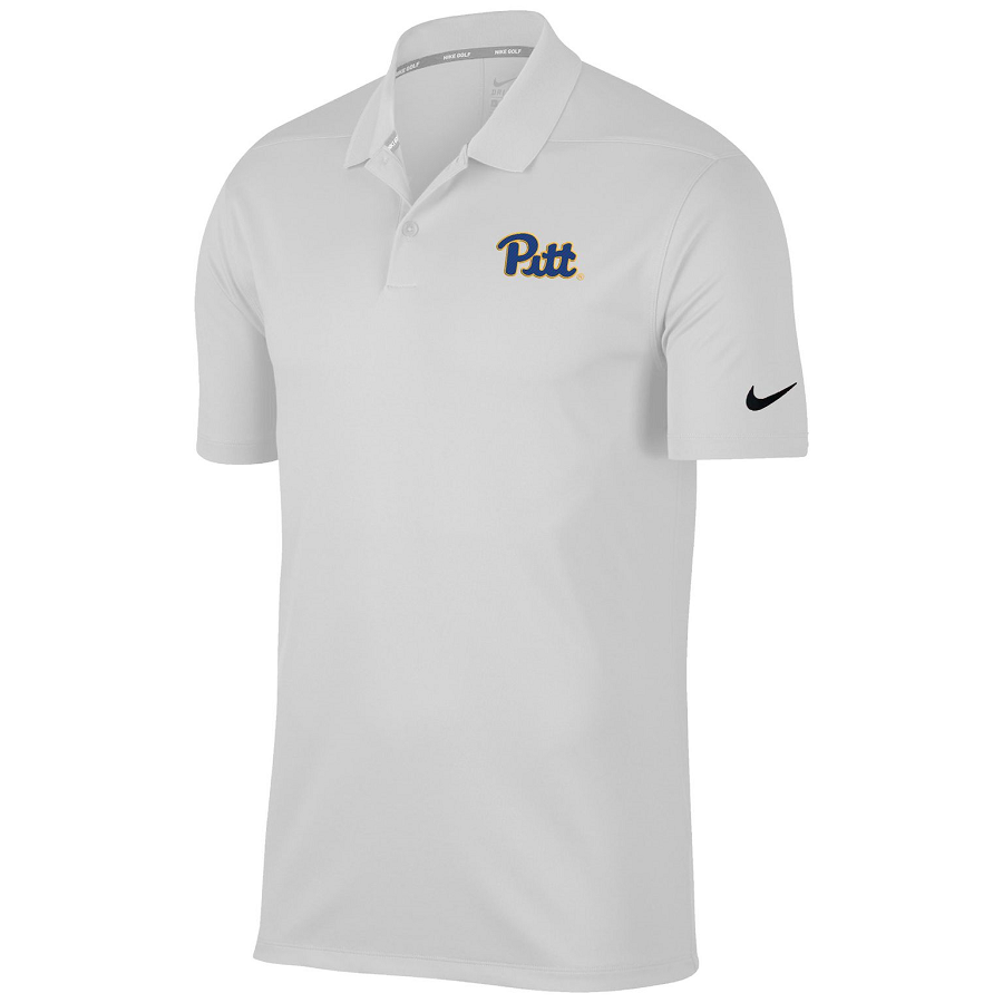 Image For x Clearance Nike Polo Men's Pitt Script - White