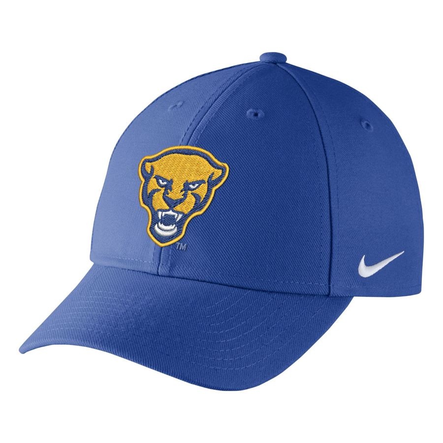 Cover Image For Nike Adult's Panther Head Wool Classic Hat - Royal Blue