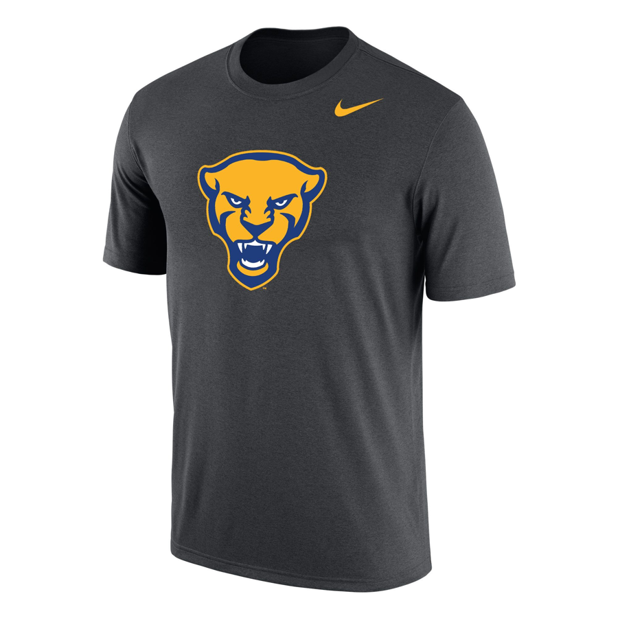 best cheap 1e897 3aa5f Nike Men s Dri-FIT Panther Head T-Shirt - Gray