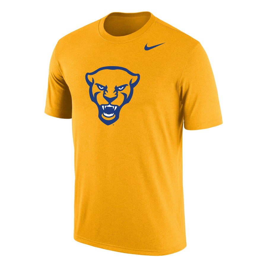 Image For Nike T-Shirt Dri-FIT Panther Head - Gold