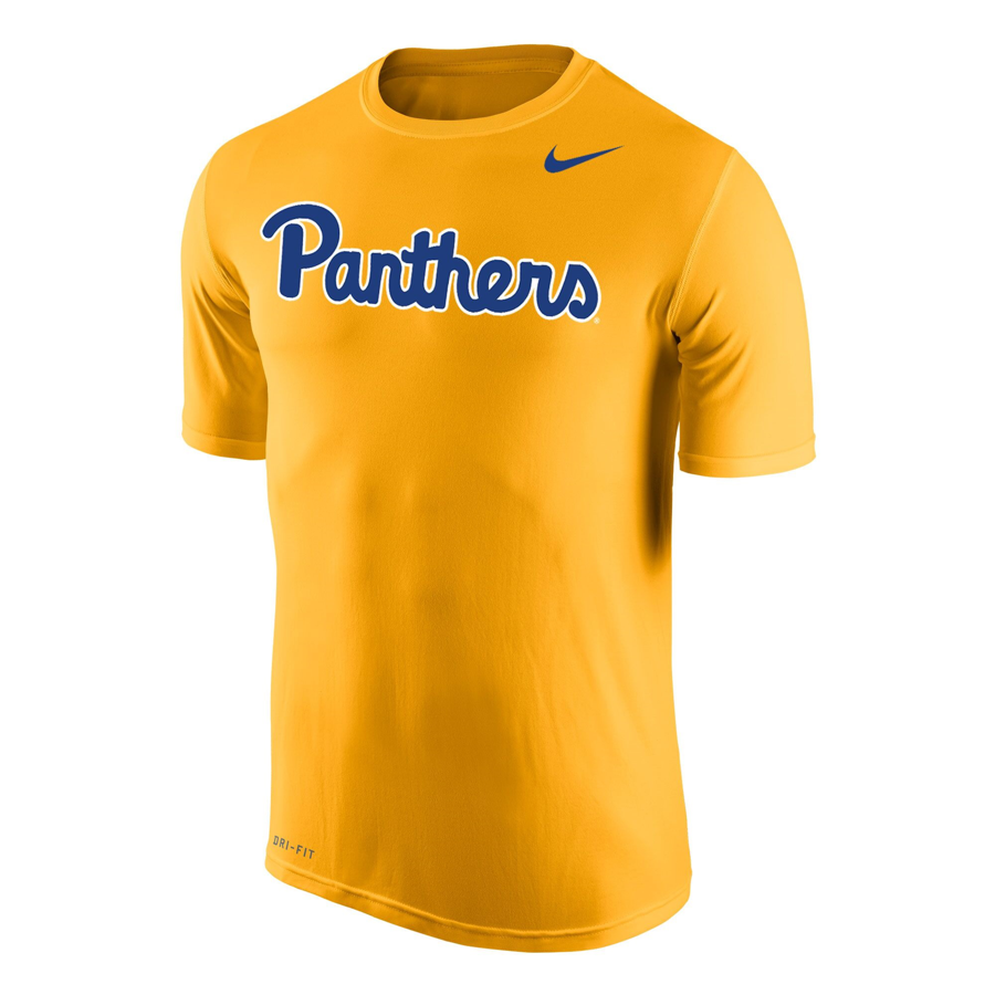 Image For Nike T-Shirt Dri-FIT Legend Panthers Script - Gold