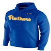 Cover Image for Nike Men's Pitt Script Club Fleece Hoodie - Royal Blue