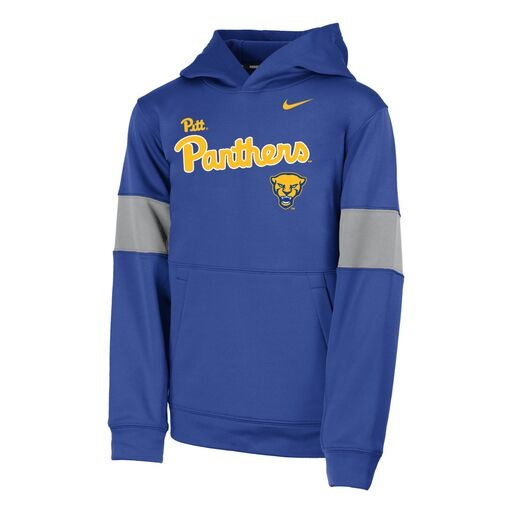 Cover Image For Nike Youth Boys Hood Therma Panthers Script - Royal