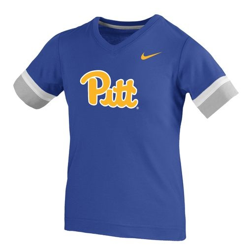 Cover Image For Clearance Nike Youth Girls T-Shirt Pitt - Royal