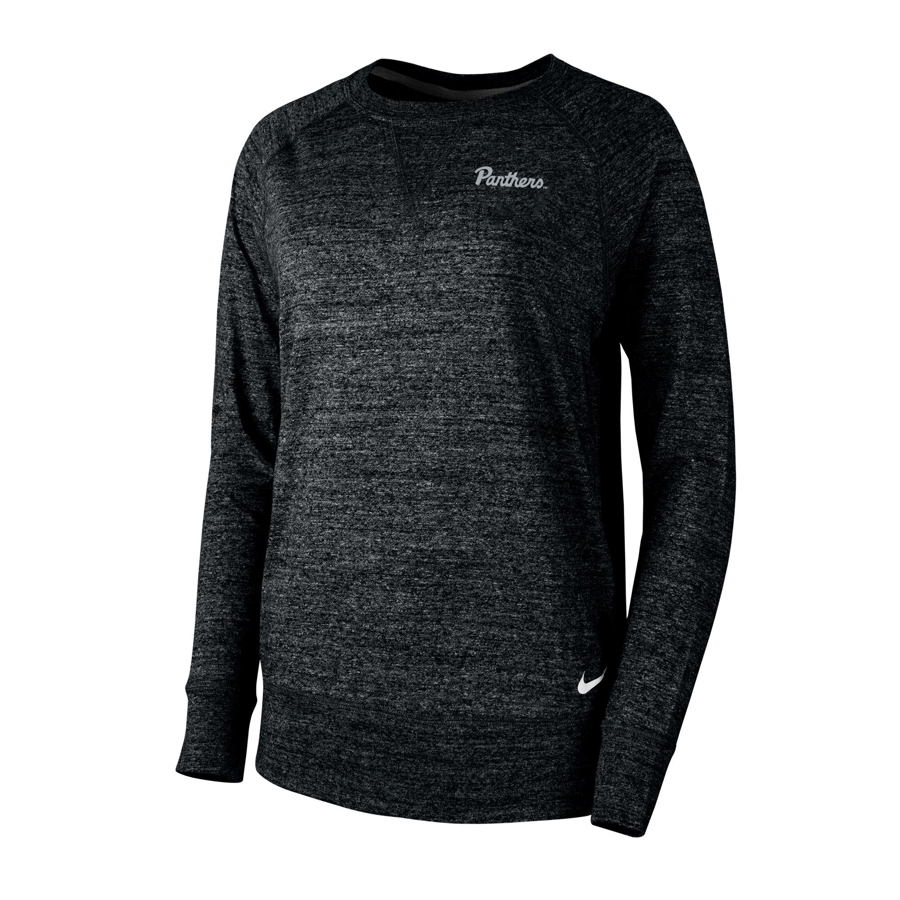 76812325 Nike Women's Gym Vintage Crew Sweatshirt - Black