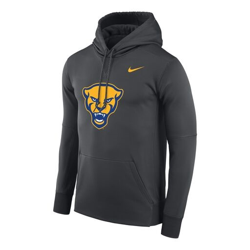 Image For Nike Hood Men's Pitt Therma - Charcoal