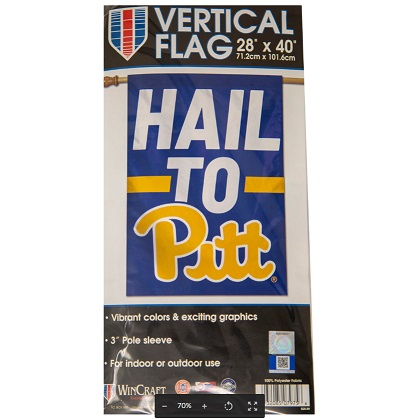 Image For FLAG HAIL TO PITT TB