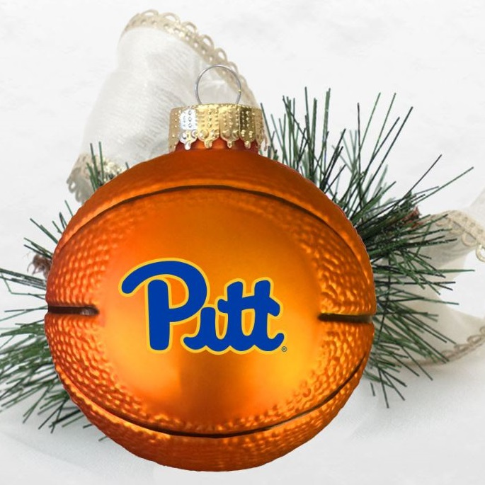 Cover Image For Pitt Basketball Ornament