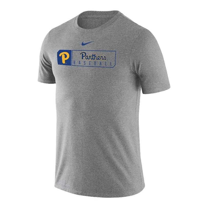 Cover Image For Nike T-Shirt Men's Panther Baseball - Gray