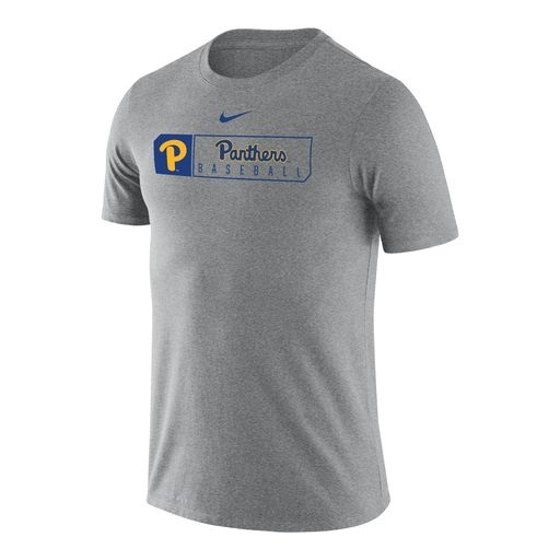 Image For Nike T-Shirt Panthers Baseball - Grey