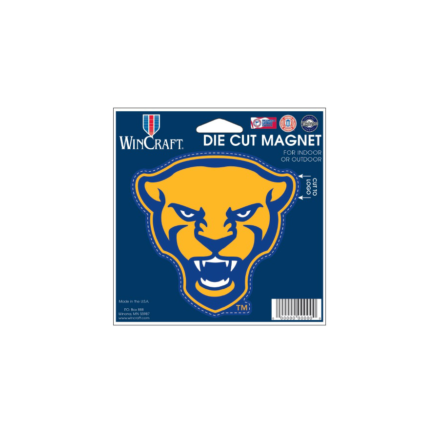 Image For Wincraft Panther Head Car Magnet