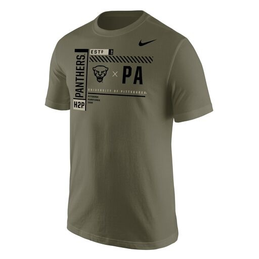 Image For Nike T-Shirt Panther Head x PA - Camo Green