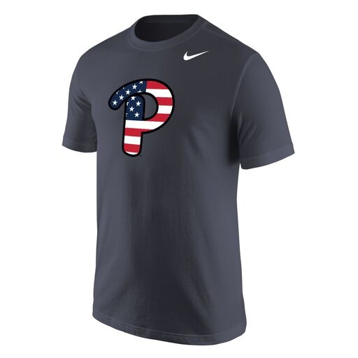 Cover Image For Nike T-Shirt Americana P Script - Grey
