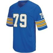 Image For Retro Brand Adult's Jersey Bill Fralic 79 - Royal