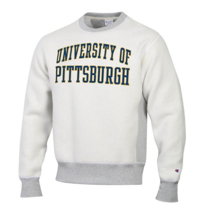 Image For Champion Reverse Weave University of Pittsburgh Crew