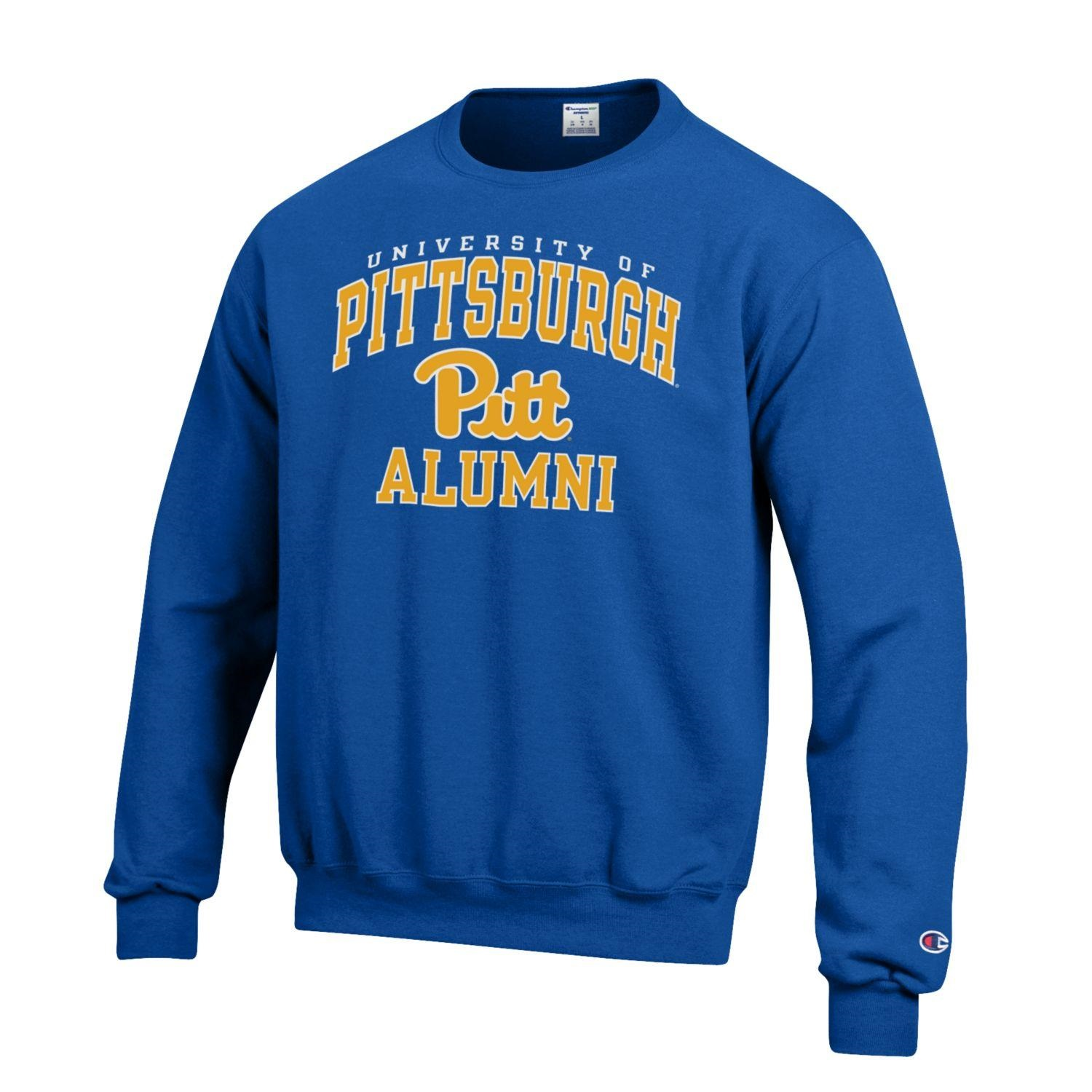 Image For Champion University of Pittsburgh Alumni Sweatshirt