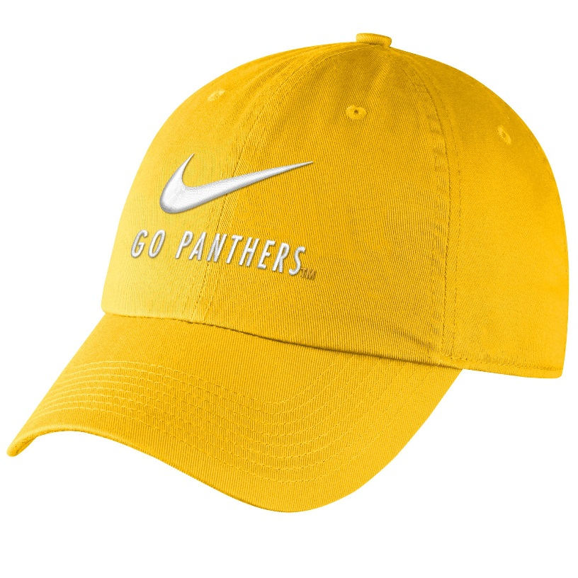 Image For Nike Adult's Go Panthers Campus Hat - Gold