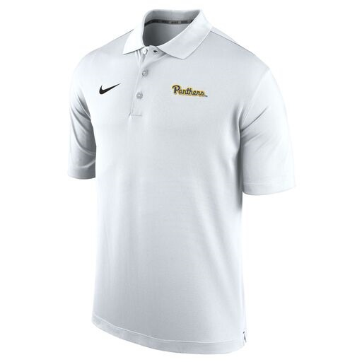 Cover Image For Nike Polo Men's Panthers Script-White