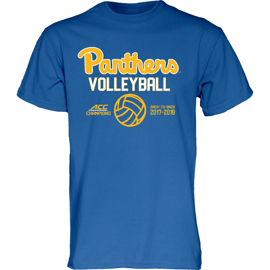 Image For Blue 84 Women's ACC Champions Volleyball T-Shirt
