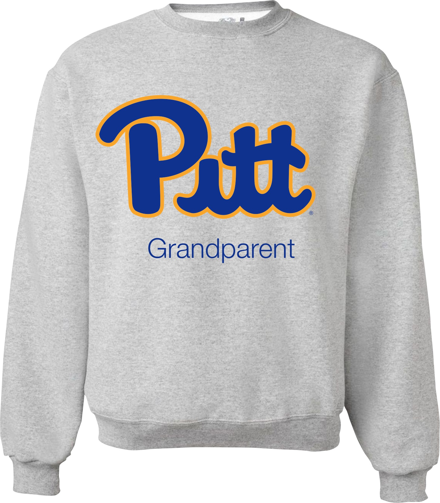 "Cover Image For Pitt Family ""Grandparent"" Crew - Grey"